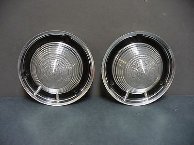 59 Ford back up light lenses reverse lamps