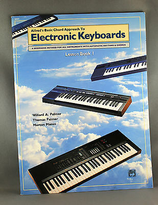 Alfred's Basic Chord Approach to Electronic Keyboards Various Levels - Brand New