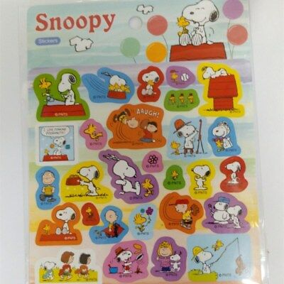 Genuine Snoopy And His Friends Color Cute Stickers 180443