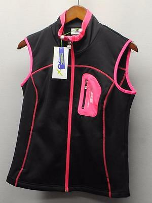 New Ladies Small Daily Sports Tracy Soft Shell Wind & Water resistant golf vest