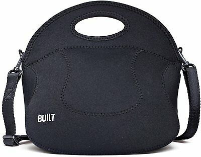 Spicy Relish Lunch Tote, Built, Solid Black