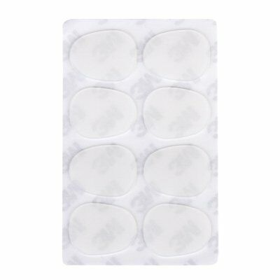 8pcs Alto/Tenor Sax Mouthpiece Patches Pads 0.8mm---Clear HY