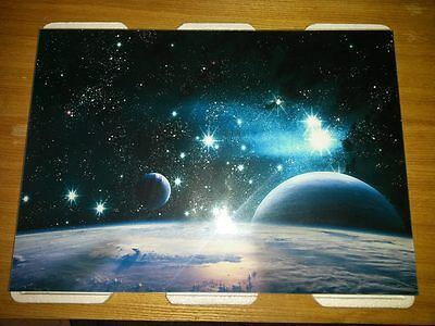 Space Stars Planets Solar System framed Poster A4 260 gsm