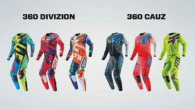 Maglie Cross Assortite Varie Colorazioni - Fox 360