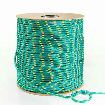 BLACK 3mm-20mm SYNTHETIC ROPE 1-50m polypropylene cord boat sail