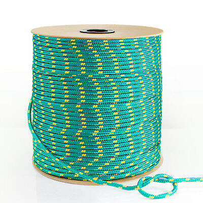 GREEN 3mm-20mm SYNTHETIC ROPE 1-50m polypropylene cord - boat sail
