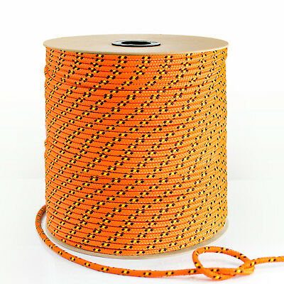 ORANGE 3mm-20mm SYNTHETIC ROPE 1-50m polypropylene cord - boat sail
