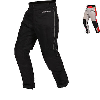 Buffalo Coolflow ST Motorcycle Trousers Textile WP Breathable Vented CE Armour