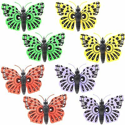 8 x Large Butterfly Garden Wall Decoration Outdoor Home Art Patio Fence Ornament