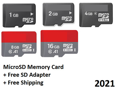 SanDisk MicroSD Micro SD Memory Card 1GB 2GB 4GB 8GB 16GB SDHC TF Flash Ultra