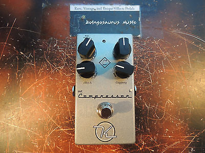 Keeley 4-Knob Compressor C4 Boutique Effects Pedal Free Shipping!!