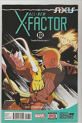 Marvel Comics All New X-Factor #17 February 2015 All New Now 1St Print Nm