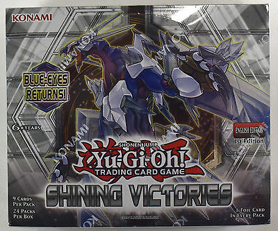 Yu-gi-oh! Yugioh Shining Victories Factory Sealed 1st Edition ENG Booster Box