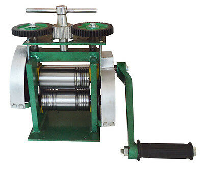 New Jewelry Use Manual Rolling Mills For Half Round and Square Free Shipping