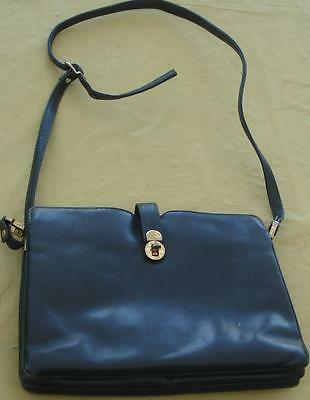 Vintage Gently Used Susan Gail Faux Leather Handbag Vgc Gorgeous Piece 1950s