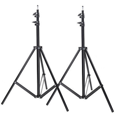Neewer Two Aluminum Photo/Video Tripod Light Stands For Studio Kits ND#17