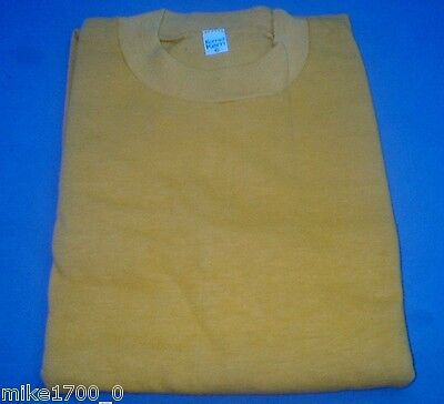 Mens Long Sleeve Plain Cotton Tee Shirt - Various Colours and Sizes