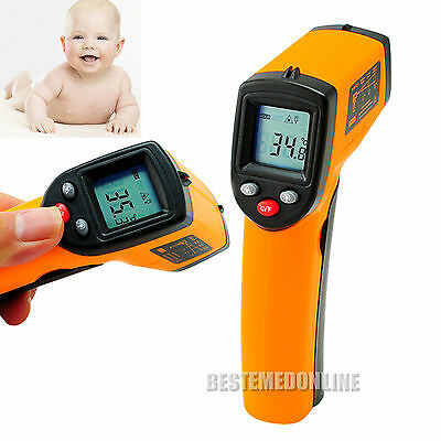 Non-Contact IR Infrared Digital Temperature#Gun Thermometer+Laser Point NiceItem