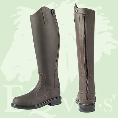 English Gaiter Company Pytchley Long Waxed Leather Boot