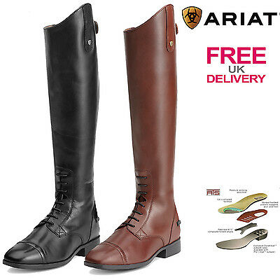 Ariat Challenge Contour Square Toe Field Zip Riding Boots