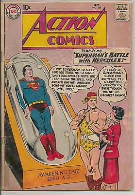 DC Comics Action Comics #268 September 1960 G