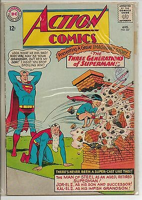DC Comics Action Comics #327 August 1965 Supergirl F
