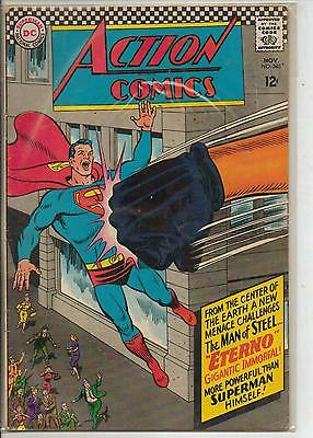 DC Comics Action Comics #343 November 1966 Supergirl F