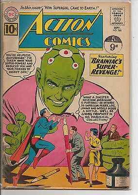 DC Comics Action Comics #280 September 1961 Brainiac VG