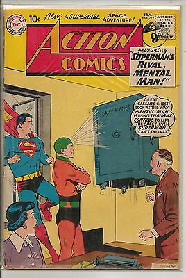 DC Comics Action Comics #272 January 1961 G+