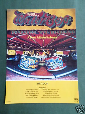 The Waterboys - Magazine Clipping / Cutting- 1 Page Advert