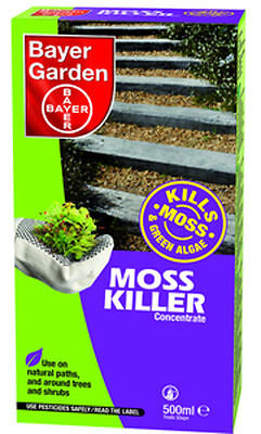 Bayer Garden Moss Killer Concentrate 500ml 81701962 Pack Of 12