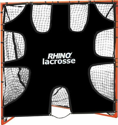 New Champion Rhino Lacrosse 6' x 6' Heavy Duty Shooting Goal TARGET w 9 Zones