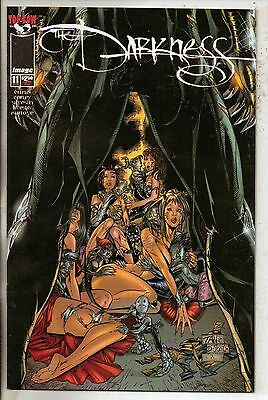 Image Comics Darkness #11 January 1998 Tan Variant Top Cow NM