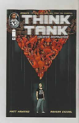 Image Comics Think Tank Creative Destruction #1 April 2016 1St Print Nm