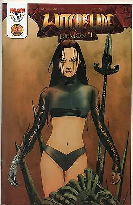 Top Cow Comics Witchblade Demon #1 Dynamic Forces Variant W/coa 529/5000