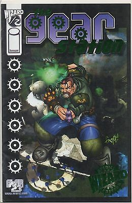 Wizard Gear Station #1/2 Dynamic Forces Green Foil Variant W/coa 0370/1000