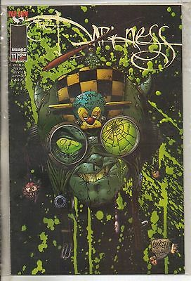 Image Comics Darkness #11 January 1998 Cabrera Variant Top Cow NM
