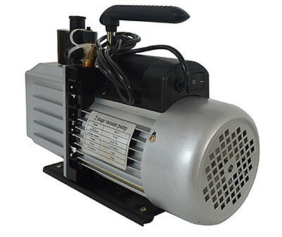 New 110V 2-Stage Rotary Vane Deep 7 CFM Vacuum Pump for Industry High Quality