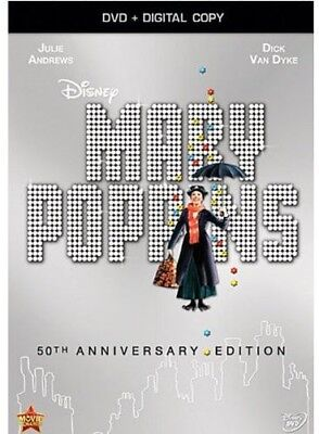 Mary Poppins (50th Anniversary) [New DVD] Anniversary Edition, Digital Copy, D