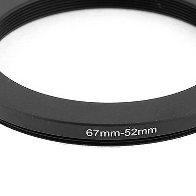67mm-52mm 67mm to 52mm Black Step Down Ring Adapter  Nikon HY