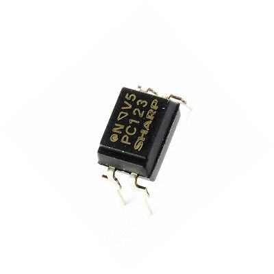 10 Pcs PC123 Triac Driver IC Optoisolator Photocoupler Optocoupler DIP-4 NEW