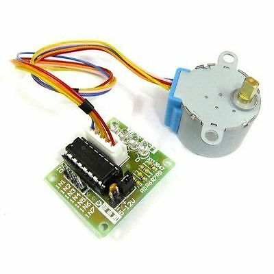 5PCS 5V Stepper Motor 28BYJ-48 With Drive Test Module Board ULN2003 5 Line 4 Pha