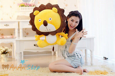 New Hot Cute 60cm Plush The Lion King Stuffed Soft Toy Hold Pillow 2 Colors 10H3