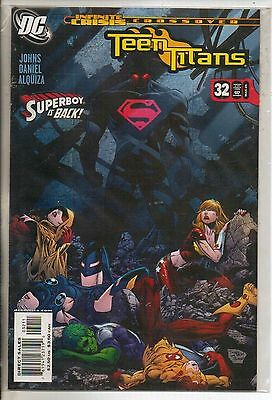 DC Comics Teen Titans Vol 3 #32 March 2006 Infinite Crisis NM
