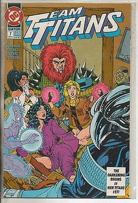 DC Comics Team Titans #7 April 1993 NM-