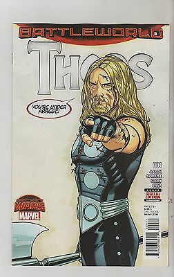 Marvel Comics Thors #4 January 2016 1St Print Nm