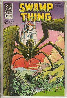 DC Comics Swamp Thing Vol 2 #87 June 1989 NM