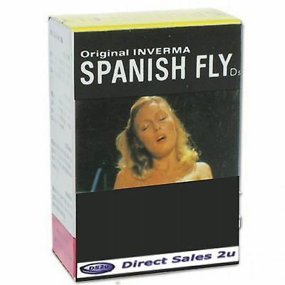 Spanish Fly Drops Aphrodisiac Original Inverma 10ml