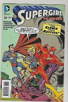 Dc Comics Supergirl #38 March 2015 New 52 Flash 75 Variant Nm