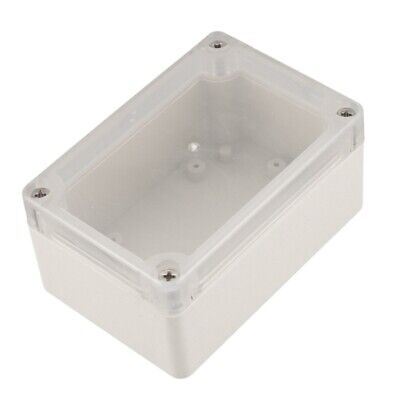 Screw Mounted Clear Cover Waterproof Sealed Junction Box 100x68x50mm HY